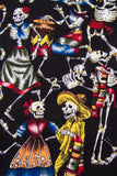 Day of the Dead Musicians Black Bandana