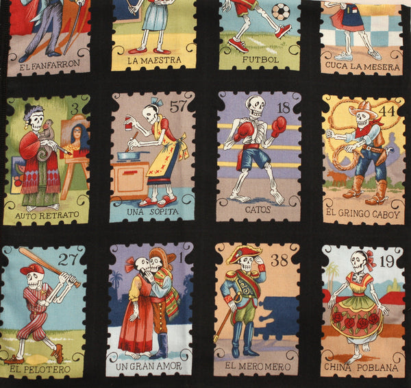 Day of the Dead Philately Bandana