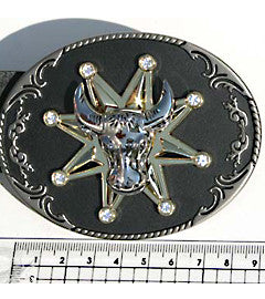 Bullshead & Spinning Star Fashion Buckle
