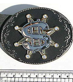 Big Bucks Spinning Dollar Buckle