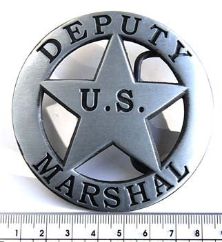 U.S. Deputy Marshal Fashion Buckle