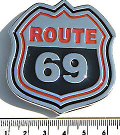 The World Class 69, Route 69 Buckle