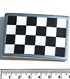 Get Set Slow, Checkered Flag Buckle