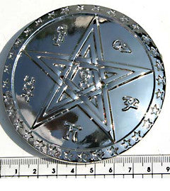 Pentagram & Runes Fashion Buckle