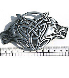 Tribal Wolves Fashion Buckle