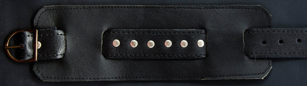 black-leather-with-studs-cuff