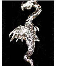 Tallest of the Dragons Silver Dragon Pendant