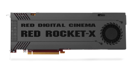 RED - RED ROCKET-X Card