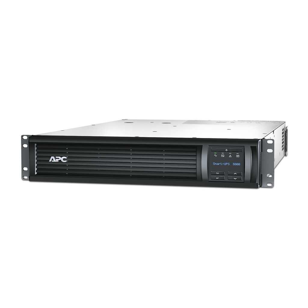 APC - Smart-UPS 3000VA LCD RM 2U 120V with Network Card
