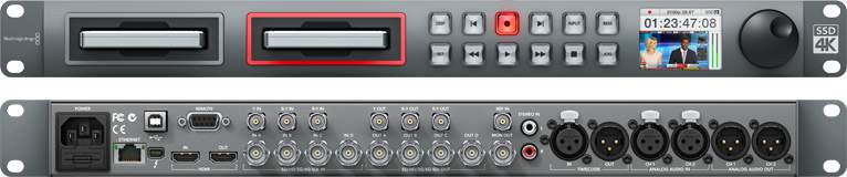 Blackmagic Design - HyperDeck Studio Pro