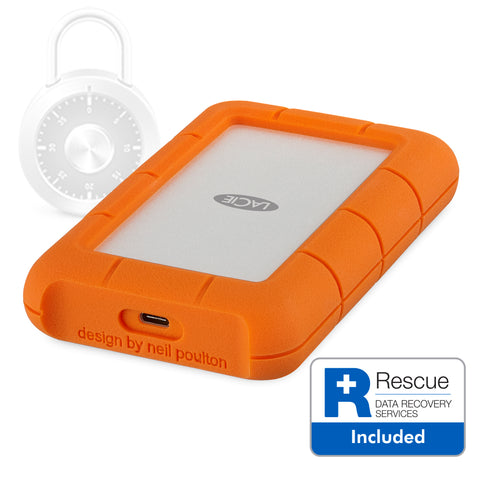 LaCie - Rugged SECRURE