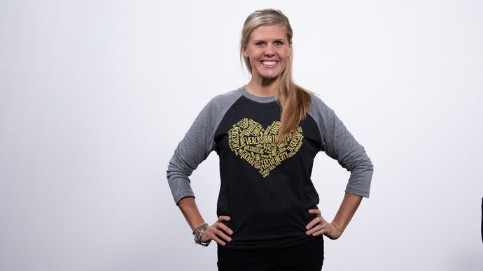 We Love Birthday Cheer and Pittsburgh Raglan Shirt