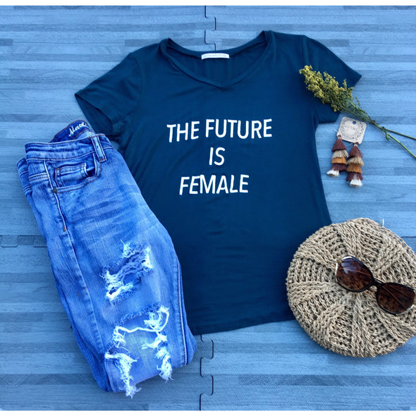 The Future is Female Top