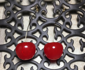 Cherry On The Top Earring
