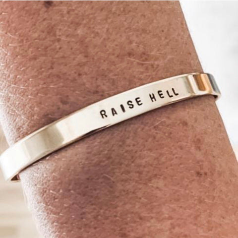 Raise Hell Bangle