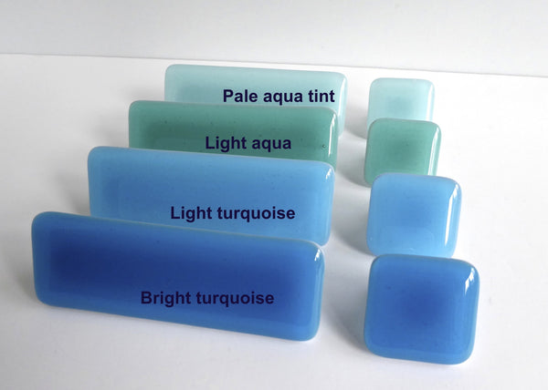 Spa Style Fused Glass Cabinet Door Knobs-2