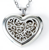 Stainless Steel Locket Diffuser Necklaces