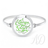 Amazing Grace Essential Oil Diffuser Bracelet-Adorn & Diffuse Essential Oil Aromatherapy Jewelry