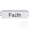 Bar Inspiration Necklace ~ FAITH-Adorn & Diffuse Essential Oil Aromatherapy Jewelry