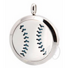 Baseball ~ Softball Diffuser Locket Necklace-Adorn & Diffuse Essential Oil Aromatherapy Jewelry