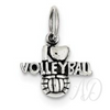 I ❤️ Volleyball Charm-Adorn & Diffuse Essential Oil Aromatherapy Jewelry