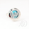 Music Diffuser Ring-Adorn & Diffuse Essential Oil Aromatherapy Jewelry