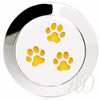 Paw Prints Diffuser Ring-Adorn & Diffuse Essential Oil Aromatherapy Jewelry