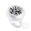 Scroll Diffuser Ring-Adorn & Diffuse Essential Oil Aromatherapy Jewelry