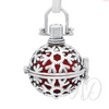 Snowflake Ball Diffuser Necklace-Adorn & Diffuse Essential Oil Aromatherapy Jewelry