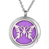 Butterfly Diffuser Locket Necklace #1-Adorn & Diffuse Essential Oil Aromatherapy Jewelry