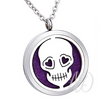 Day of the Dead Diffuser Locket Necklace-Adorn & Diffuse Essential Oil Aromatherapy Jewelry