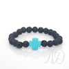Faith Lava Bracelet-Adorn & Diffuse Essential Oil Aromatherapy Jewelry