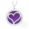 My Heart Diffuser Locket Necklace-Adorn & Diffuse Essential Oil Aromatherapy Jewelry