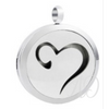 Open Heart Diffuser Locket Necklace-Adorn & Diffuse Essential Oil Aromatherapy Jewelry