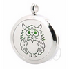 Owl Diffuser Locket Necklace-Adorn & Diffuse Essential Oil Aromatherapy Jewelry
