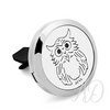 Owl Vehicle Vent Diffuser-Adorn & Diffuse Essential Oil Aromatherapy Jewelry