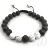 Peace Bracelet: Lava & Howlight-Adorn & Diffuse Essential Oil Aromatherapy Jewelry
