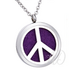 Peace Sign Diffuser Locket Necklace-Adorn & Diffuse Essential Oil Aromatherapy Jewelry