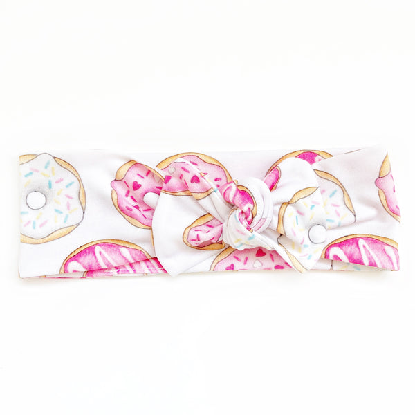 Top Knot Headband - Donuts