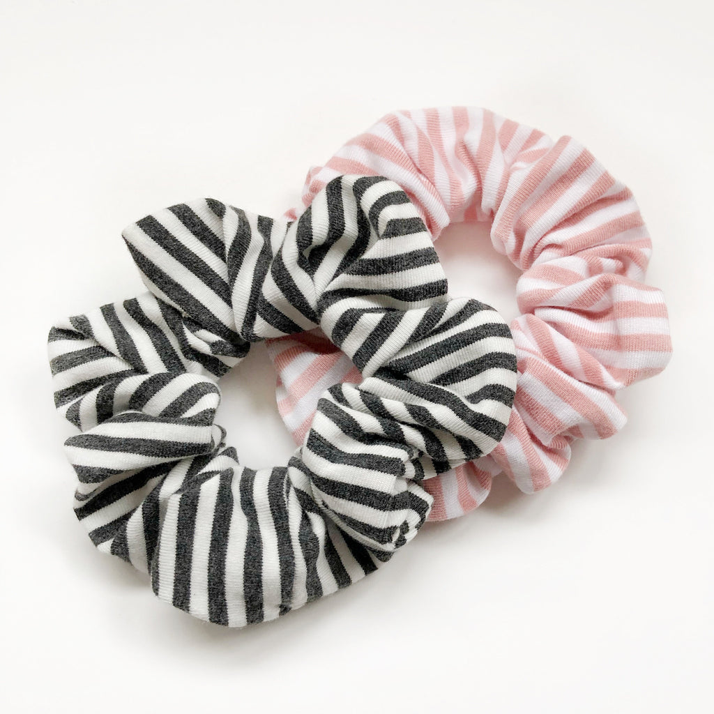 Scrunchies -  Bamboo Stripes
