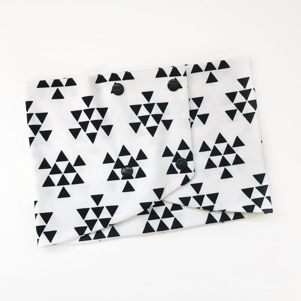 Toddler/Child Scarf - Black Triangle