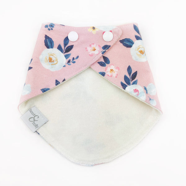 Bandana Bib - Mia Dusty Rose