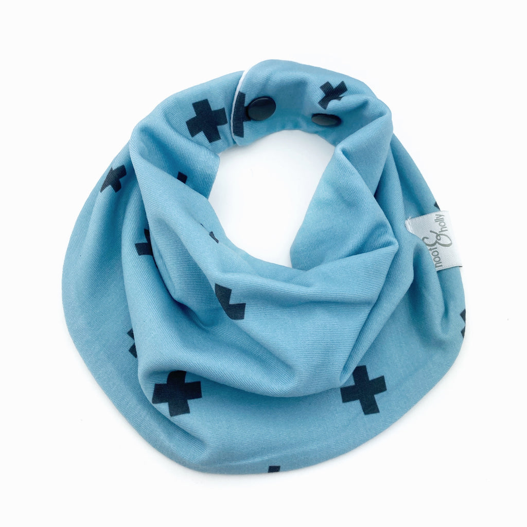 Drool Scarf - Blue Plus