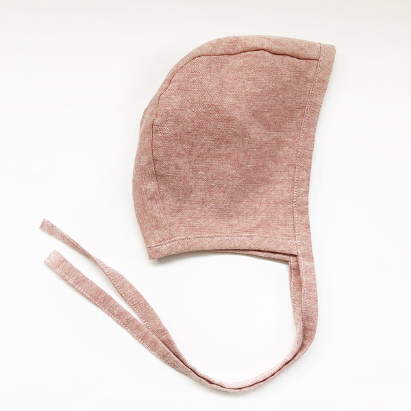 Bonnet -  Blush Linen