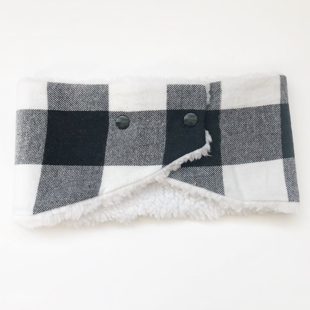 Toddler/Child Winter Cowl Scarf - Buffalo Plaid