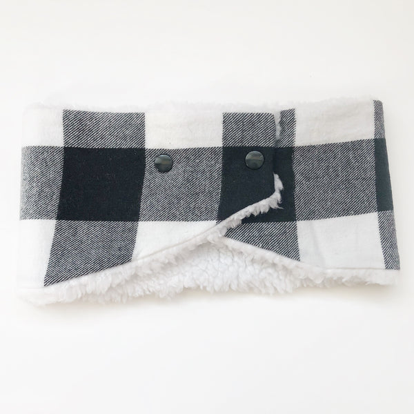 Toddler/Child Winter Scarf - Buffalo Plaid