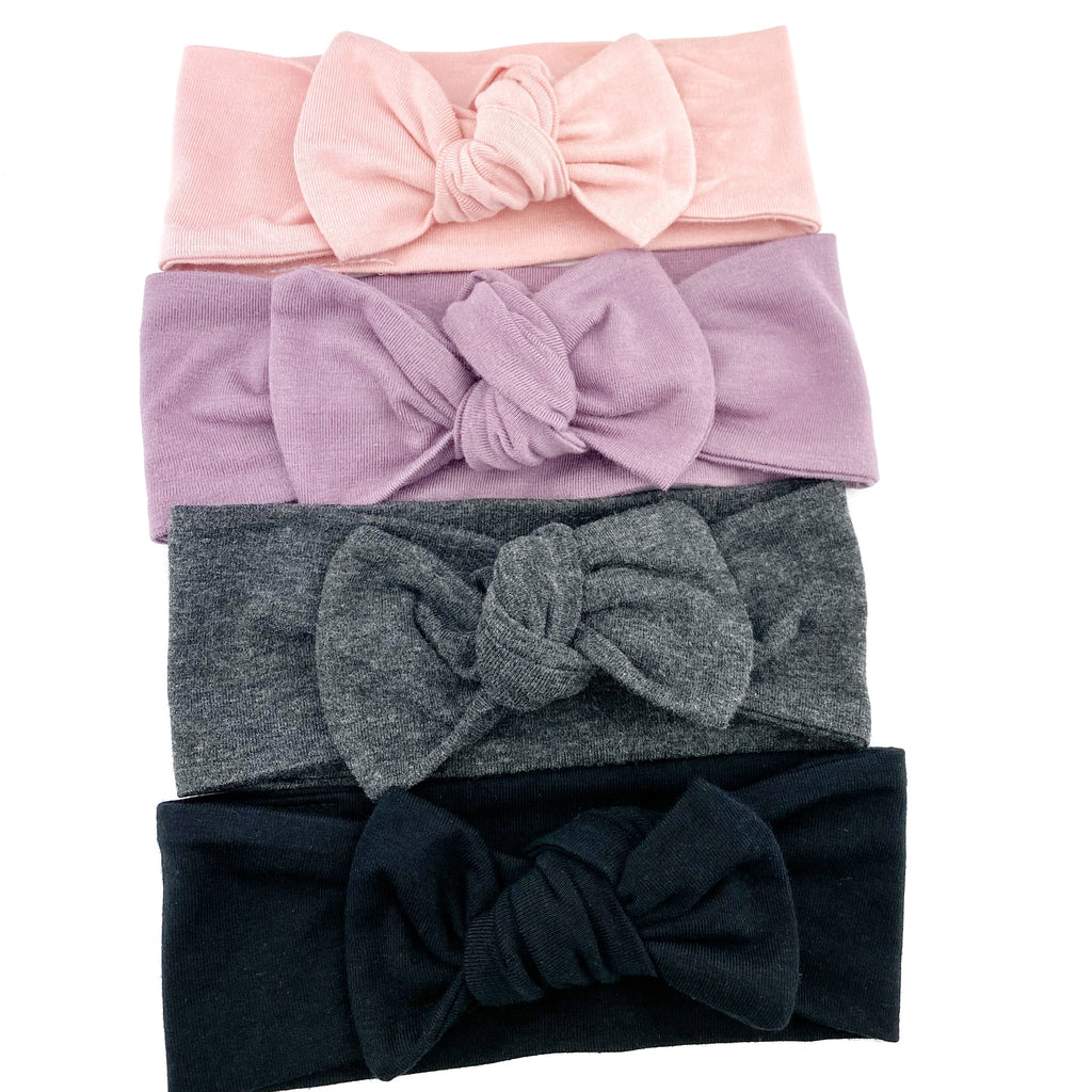 Top Knot Headband - Bamboo Collection