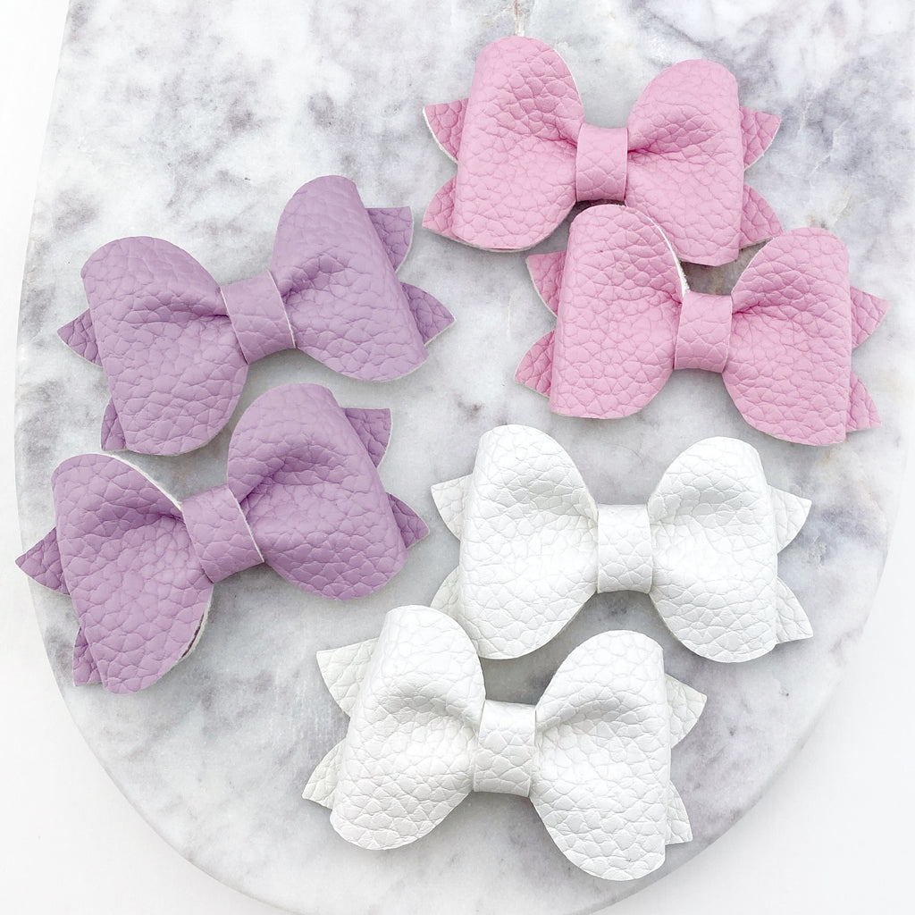 Alexandria Bow- Pigtail Sets