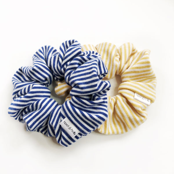 Scrunchies - Fall Bamboo Stripes