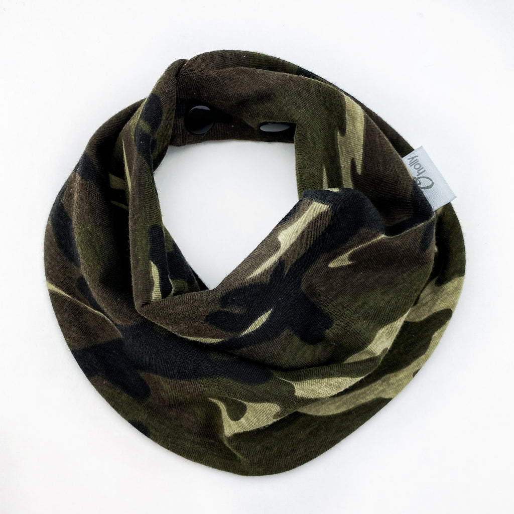 Drool Scarf - Camouflage